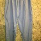 Ciel blue scrubs pants medical dental nurse elastic waist side pockets plus 2X