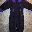 POLAR WIND girl's 4 one piece snowsuit winter snowmobiling warm ski suit nylon