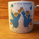 GRADUATION  coffee tea cup mug GREAT gift EUC cats grad ceramic student present