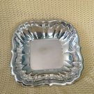 Antique 1954 REED & BARTON silverplate ? bowl fancy fluted sides scalloped edges