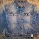 Boy girl small 5/6 NEW faded light wash jean jacket CHILDREN'S PLACE spring coat