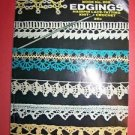 '71 COATS & CLARKS #208 instruction booklet edging hairpin lace tatting crochet