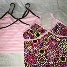 Lot 2 OLD NAVY girl's S tankini bathing swimming swim suit tops bright NWOT