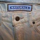 LEVIS Naturals (organic) 550 29X32 womens relaxed fit straight leg light beige