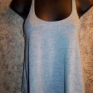 Teal cropped cami braided t-strap WET SEAL top women's XS tissue t fabric light