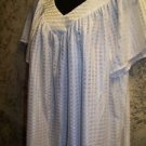 White semi sheer gathered v-neck GRANADA womans plus 40 lightweight top blouse
