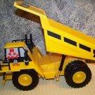 "CAT dump truck sturdy plastic 14"" moves forward reverse engine sounds voice 1995"