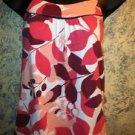 AMERICAN EAGLE cami top stretch knit adj straps babydoll women's size S summer
