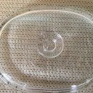 """PYREX DC 1 1/2C oval casserole dish replacement part cover lid top clear 8.5X11"""""""