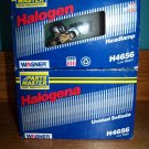 2 WAGNER #H4656 low beam headlamps NOS Parts Master replacement lights Fed Mogul