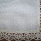 """Vintage shabby chic cottage cabin kitchen curtains 2 panels 35x32"""" JC PENNEY"""