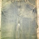 Boys 12 painter carpenter denim blue jeans medium wash FALLSCREEK school clothes