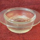 Mid Century modern HELLER glass casserole dish by L & M Vignelli heavy quality