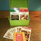 Vintage 1975 BETTY CROCKER Step by Step 600+ Recipe card set case meals desserts