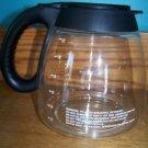 MR COFFEE replacement coffee maker pot pourer server 12 cup tear drop shape GUC