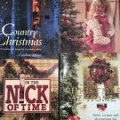 Lot 4 CHRISTmas home gift crafts projects decorating sewing idea books patterns