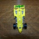 HOT WHEELS 1987 yellow RACEWAY 2000 indy race car toys die cast vintage collect