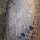Linen blend abstract art diagonal print linen blend knee length skirt OLD NAVY 4