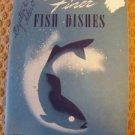 1941 A & P fish recipe pamphlet brochure vintage cooking booklet meals cookbook