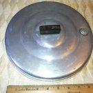 "Vintage approx. 10"" aluminum pan pot cover steam vent  lid top replacement part"