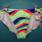 NEW string ring bikini swimming bathing suit bottoms womens junior XL (15-17)