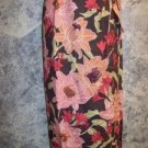Womens size XS extra small 2 TOMMY BAHAMA silk tropical wrap sarong skirt EUC