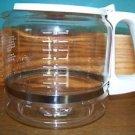 BLACK & DECKER replacement coffee maker pot pourer server 12 cup flip top lid