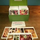 Vintage 1971 BETTY CROCKER Recipe Card Library set case approx 600 recipes GVC