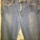 "LEVIS 505 Straight Leg stretch denim blue jeans pants red tab tag 10L 32"" inseam"