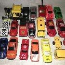 Lot 21 diecast toy cars trucks motorcycle bus Mattel Hot Wheels Tonka Matchbox