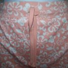 NO BOUNDARIES short shorts womens junior size large NWT orange floral tropical