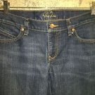 OLD NAVY The Diva lowest rise boot cut denim blue jeans pants stretch 10 regular
