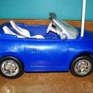 "Barbie Ken 1999 blue convertible doll accessory RC car automobile NO remote 15"""
