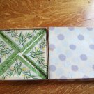 CRESTWICK fancy paper luncheon napkins vintage in box NEW unused decorative HTF