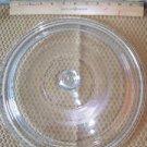 "Large vintage glass casserole dish lid ovenware bakeware clear 12"" dutch oven"