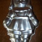 WILTON vintage 1971 RAGGEDY ANN doll metal molded cake pan collectable mold dish