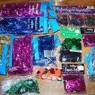 Large lot metallic confetti shreds party decoration giftbag birthday holiday NEW