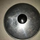 "Vintage aluminum metal 5"" pan pot lid top medium weight stay cool handle used"