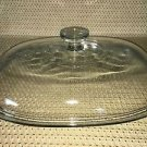 "PYREX F14C oval casserole dish replacement dome cover lid top clear 12X9"" large"