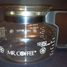 MR COFFEE replacement coffee maker pot pourer server 8-10 cup carafe NO lid K20