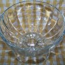 "2 ice cream parlor soda fountain footed sundae bowls extra large 5"" heavy glass"