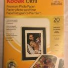 "KODAK Ultra premium Photo Paper 5x7"" 10 mil high gloss finish computer printing"