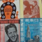 Vintage antique sheet music lot RUDY VALLEE 1930-1941 orchestra Til Reveille ...
