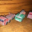 3 Vintage antique MATCHBOX Lesney diecast model toy trucks 1/24 scale #30 crane