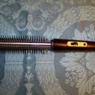 """Curling iron brush spiral tight curls hair pageant 3/4"""" barrel made in Hong Kong"""