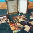 KEEPSAKES for the Heart Mothers book postcards storage box & bookmark gift set