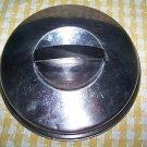 "Vintage Flint ECKO stainless steel 6.5"" sauce pan pot lid U.S.A. made long knob"