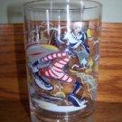 "WALT DISNEY WORLD 25th anniversary glass Goofy EC 5""  collectible cartoon art"
