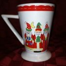 3 wise men CHRISTmas gift tall mug latte coffee tea cocoa cup present red green