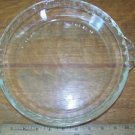 "9.5"" deep dish pie plate pan handled scalloped handles glass vntg PYREX M-23 229"